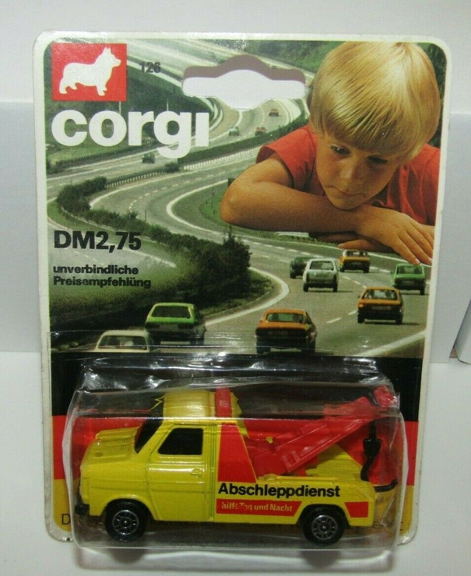 Corgi Juniors No 126 Ford Transit Wrester Geruomo gituttio Mint in Blister RARE