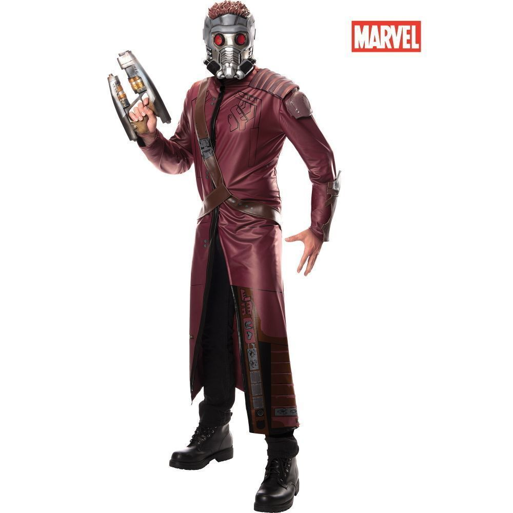 Guardians of the Galaxy - Star Lord Deluxe Adult Costume New