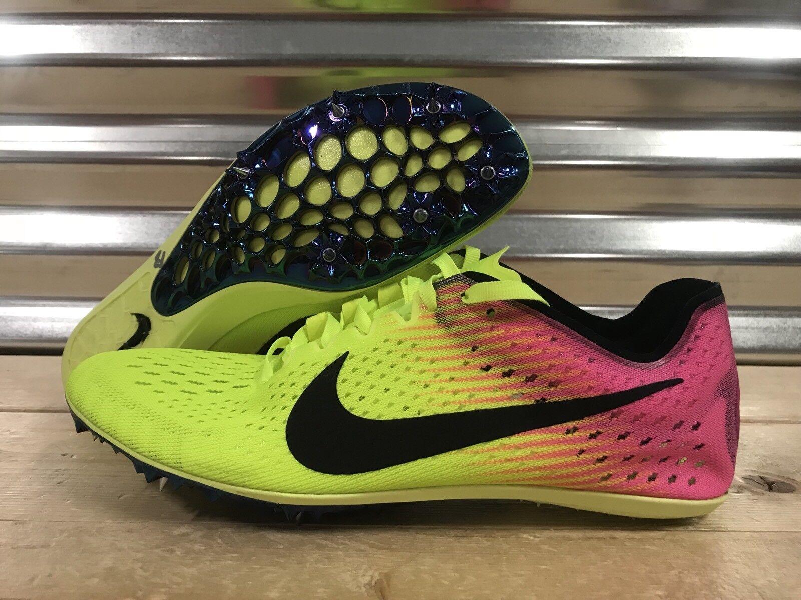 Nike zoom vittoria elite 2 binari spuntoni volt rosa nero rio sz (835998-999)