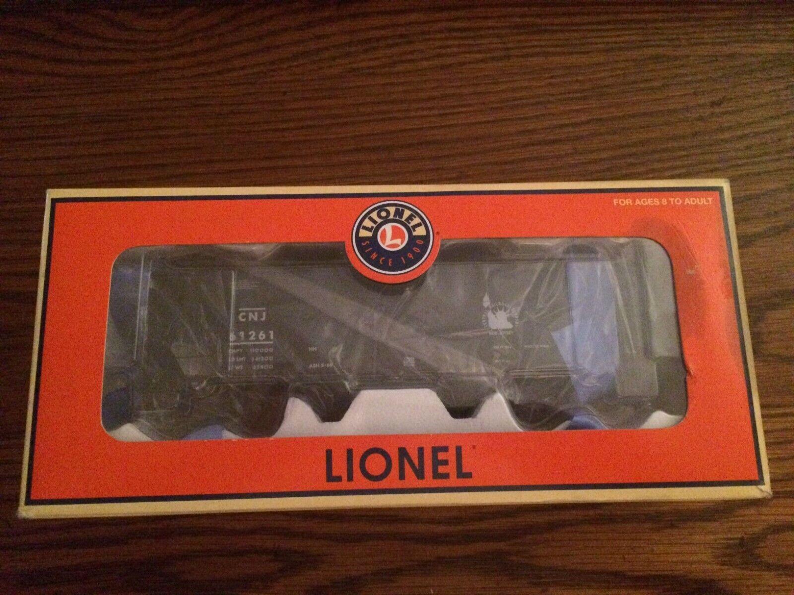 LIONEL 17068 Scale Jersey Central Die-Cast Metal Offset Hopper Car w Coal Ld New