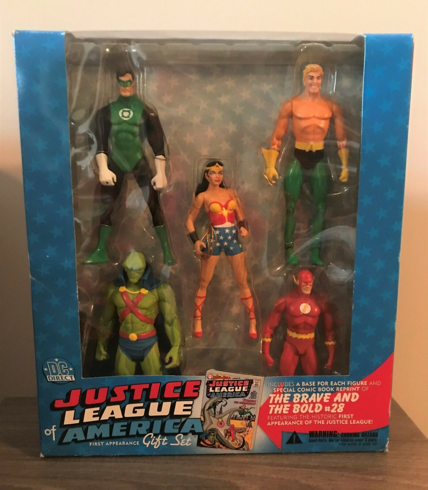 DC Direct Justice League of America First Appearance Gift Set