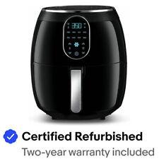 Gourmia GAF718 Digital Free Fry Air Fryer- No Oil Healthy Frying - 7 Qt- 1700 WT