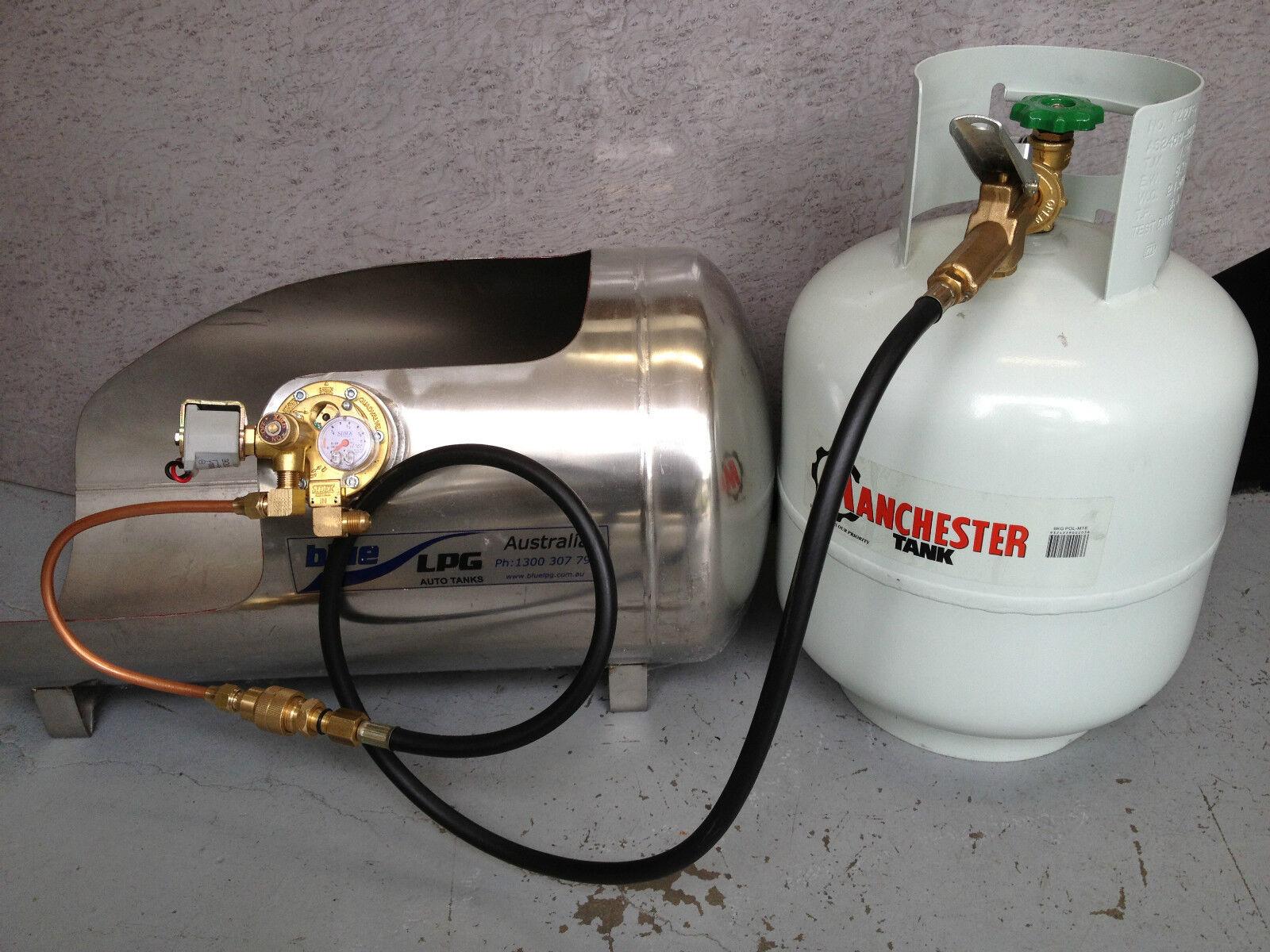 LPG Filler Gun /& Hose  with Automotive LPG Tank Decanting Fitting
