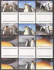 South Georgia 2005 PENGUINS/Birds 6v GUTTERS n15122a