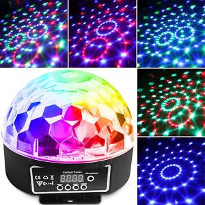 CR-Lite-18W-6-Color-Disco-DJ-Party-LED-Star-Ball-Light-Auto-Sound-IR-Controller