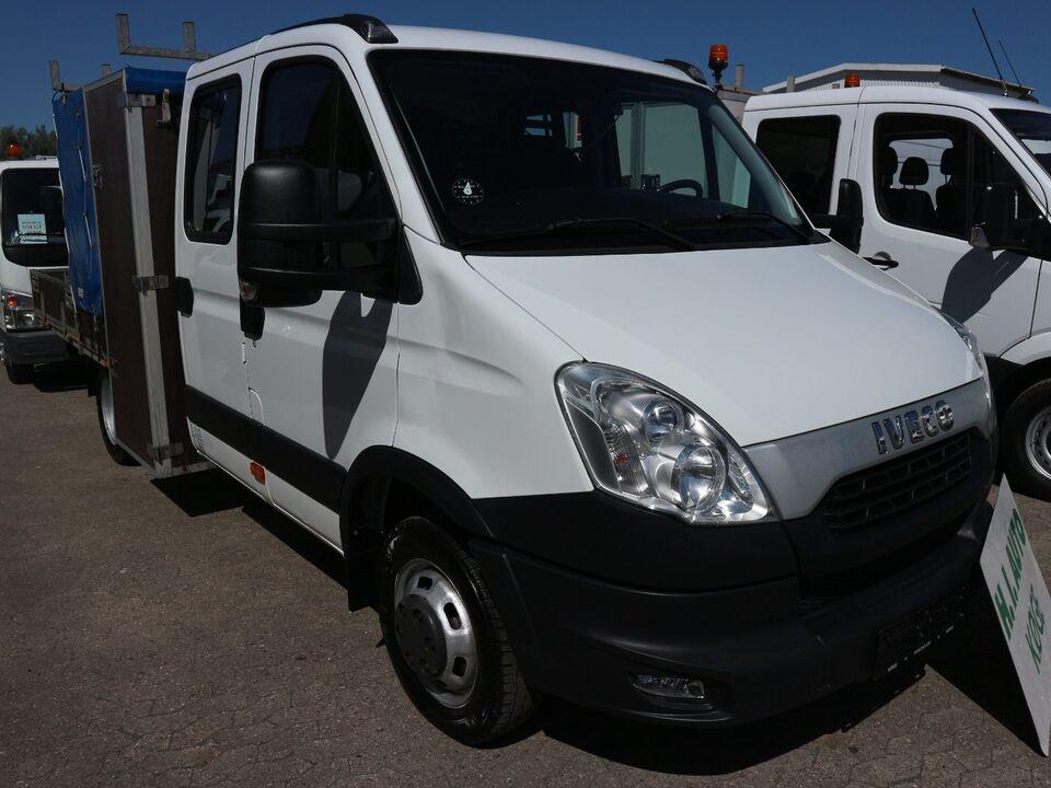 Iveco Daily 3,0 35C17 Mandskabsvogn m/lad Diesel modelår