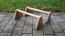 Parallettes Minibarren Calisthenics Crossfit Training Fitness - groß 500mm HOLZ