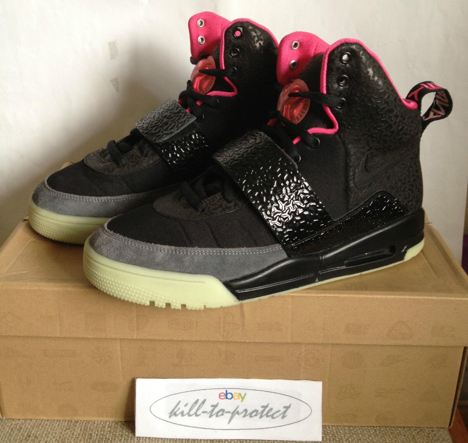 (USED) NIKE AIR YEEZY 1 One BLINK US8.5 UK7.5 BLACK 366164-003 Glow Kanye West