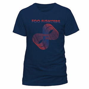 Image is loading Official-Foo-Fighters-Loops-Logo-Men-039-s-