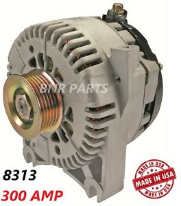350 AMP 7795 Alternator Ford Lincoln Mercury High Output Performance NEW HD USA