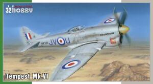 Passe-temps spécial 1/32 Hawker Tempest Mk.vi # 32055