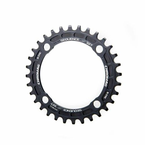 94 4 Chainring 7075-T6 Aluminum Black Chromag Sequence 28T 10//11sp BCD