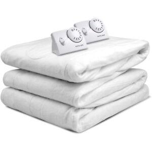 Biddeford Blankets Electric Heated Mattress Pad Queen Ebay