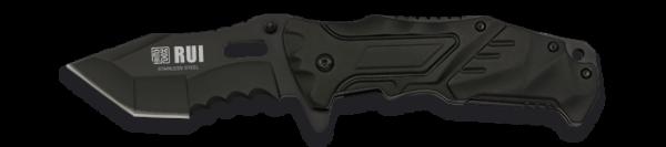 18301 Couteau Pliant Rui Noir. Lame 8.5 Cm Rui K 25