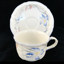 RIVIERA Villeroy & Boch CUP & SAUCER  NEW NEVER USED made in Luxembourg