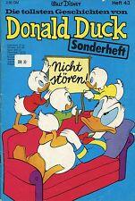 Die tollsten Geschichten von Donald Duck (Heft 43) Zustand 2+