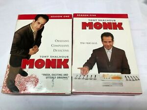 MONK-SEASON-ONE-AND-FIVE-4-DVD-039-S