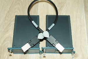 2x-Cisco-C2960S-STACK-Stacking-Module-2960S-with-CAB-STK-E-0-5M-Stack-Cable