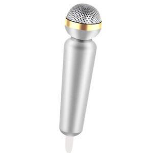 Mini-Microfono-Stereo-Mic-Per-Telefono-PC-Chattare-Cantando-Karaoke
