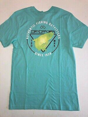 Columbia New PFG 1938 Fishing Shirt Short Sleeve Graphic T-Shirt Men/'s XL Blue