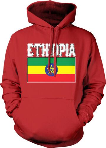 Ethiopia Flag Pride Amharic Oromo Amhara Oromiffa Addis Ababa Hoodie Pullover