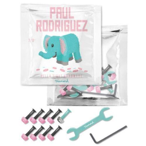 "PAUL RODRIGUEZ PRO 7//8/"" Bolts Set Skateboard Diamond Supply Co Hardware"
