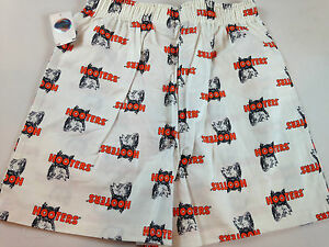 Hooters-Boxer-Shorts-White-Stretch-Authentic-Owl-Hot-Girl-Mens-Underwear-Guys