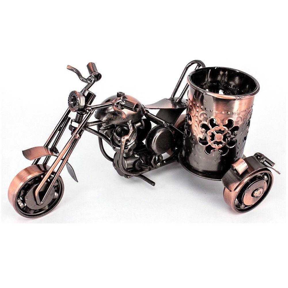 Handmade Crafts Creative Office Desktop Accessories Harley Davidson Metal Pen