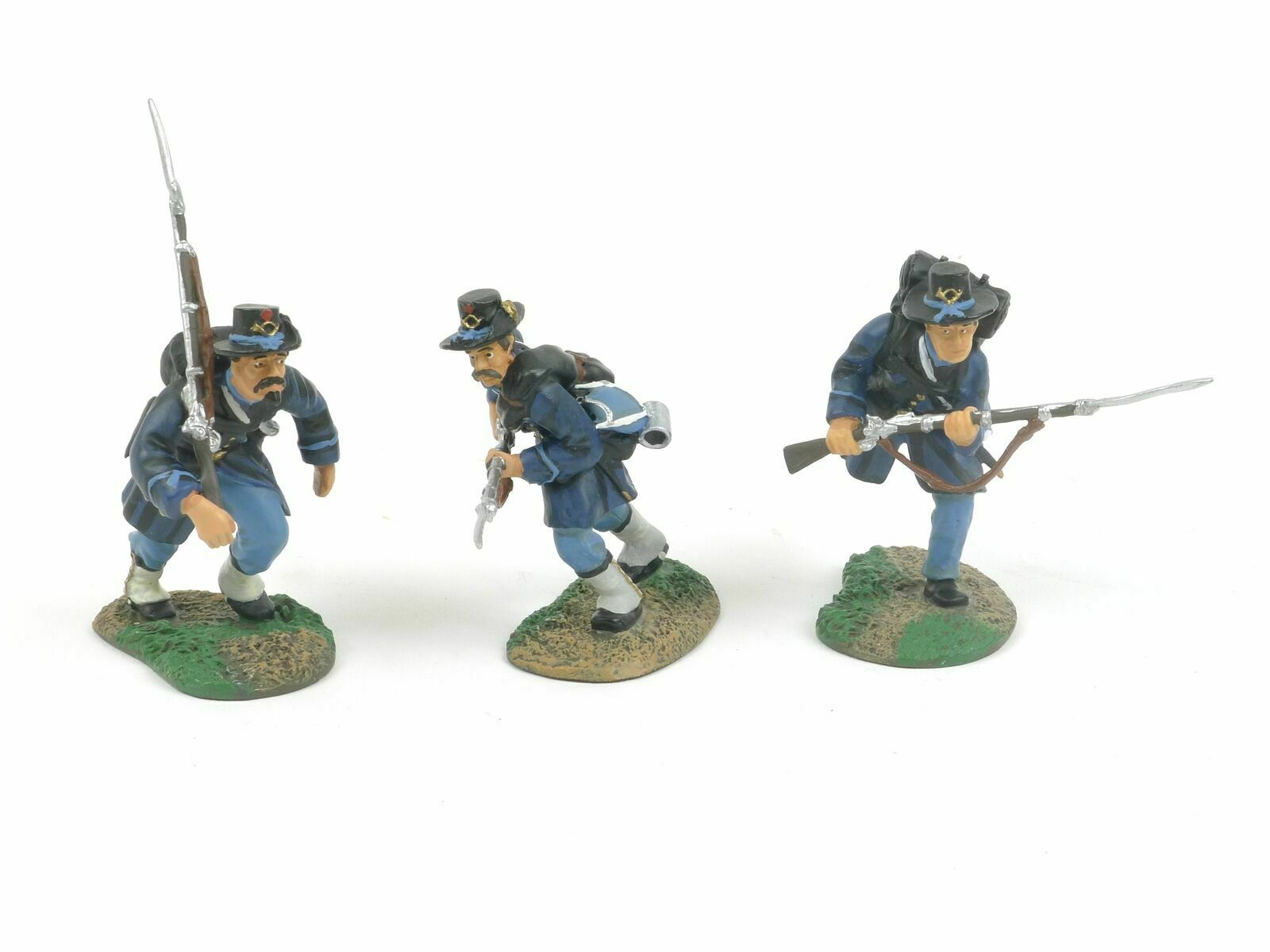 Britains 17101 American Civil War ACW Regiments Union Iron Brigade Charging
