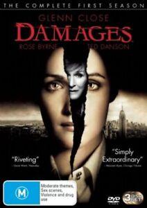 Damages-Season-SERIES-ONE-1-DVD-2007-3-Disc-REGION-4-AUSTRALIA