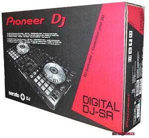 pioneer ddj sr 2 channel serato digital dj controller professional board mixer 884938234900 ebay. Black Bedroom Furniture Sets. Home Design Ideas