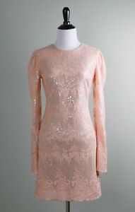 DRESS-THE-POPULATION-NWT-238-Sequin-Embellished-Embroidered-Dress-Size-XS