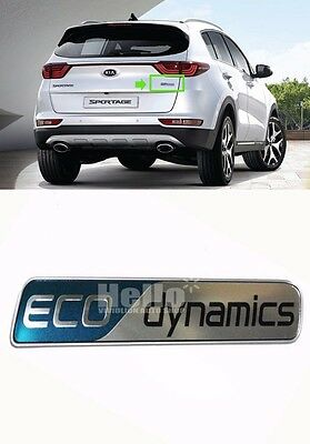 OEM Genuine 86316D9000 Rear ECO dynamics Emblem Logo For 2017 KIA SPORTAGE : QL