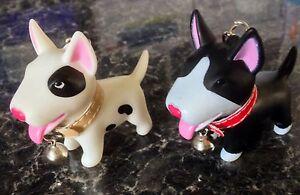 English-Bull-Terrier-Keyring-White-with-Black-Eye-Patch-Bullie-Handbag-Charms