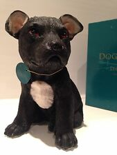 Staffordshire Bull Terrier Staffy Puppy  Love Dog Ornament Figurine Figure Gift