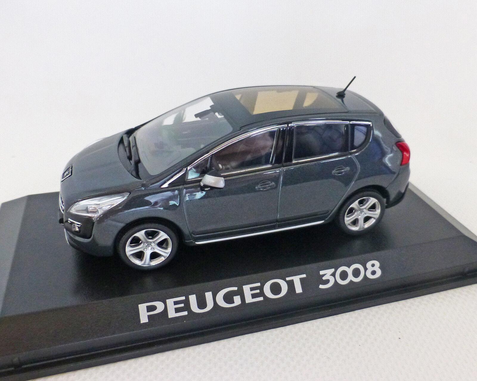 Peugeot 3008 (Series 1) grey-Met. 1 43, Norev