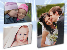 "Your Personalised Photo on Canvas Print 12"" x 16"" Framed A3 Ready to Hang"