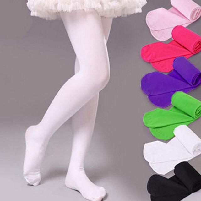 1-12 An pour Enfants Fille Princesse Souple Danse Classique Ballet Chausettes