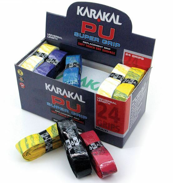 24 x Karakal Super Multi PU Replacement Grips - Tennis - Squash - Badminton