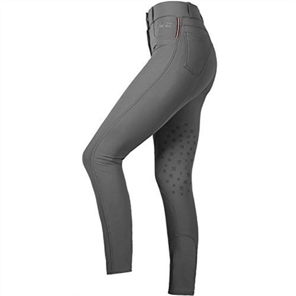 Mark Todd Ladies Marceline Breeches (grey, 34  18) - Grey Sizes Womens Pants