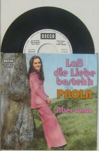 Paola-lass-die-Liebe-besteh-n-aber-dann-Unverkaeufliche-Warenprobe