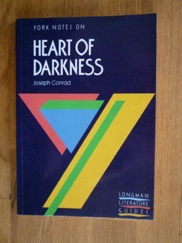 York Notes on Heart of Darkness, Joseph Conrad By Hena Maes-Jelinek