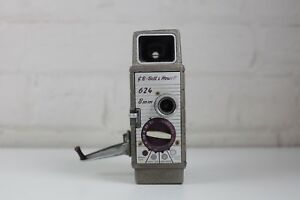 Bell and Howell 624 8mm Vintage Film/Movie Camera - Excellent Working Condition