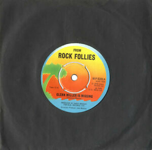 Rock-Follies-Glenn-Miller-Is-Missing-Vinyl-7-034-Single-UK-WIP-6293-1976