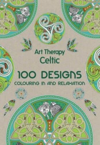 1 of 1 - Art Therapy: Celtic by Jacqui Small LLP (Hardback, 2015) 100 Designs Colouring