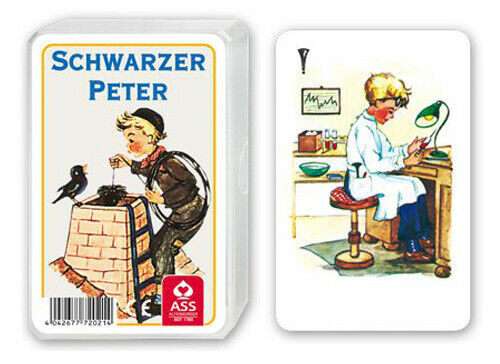 ASS Altenburger Original Schwarzer Peter Kaminkehrer Schwarze Petra Ab 4 Jahren