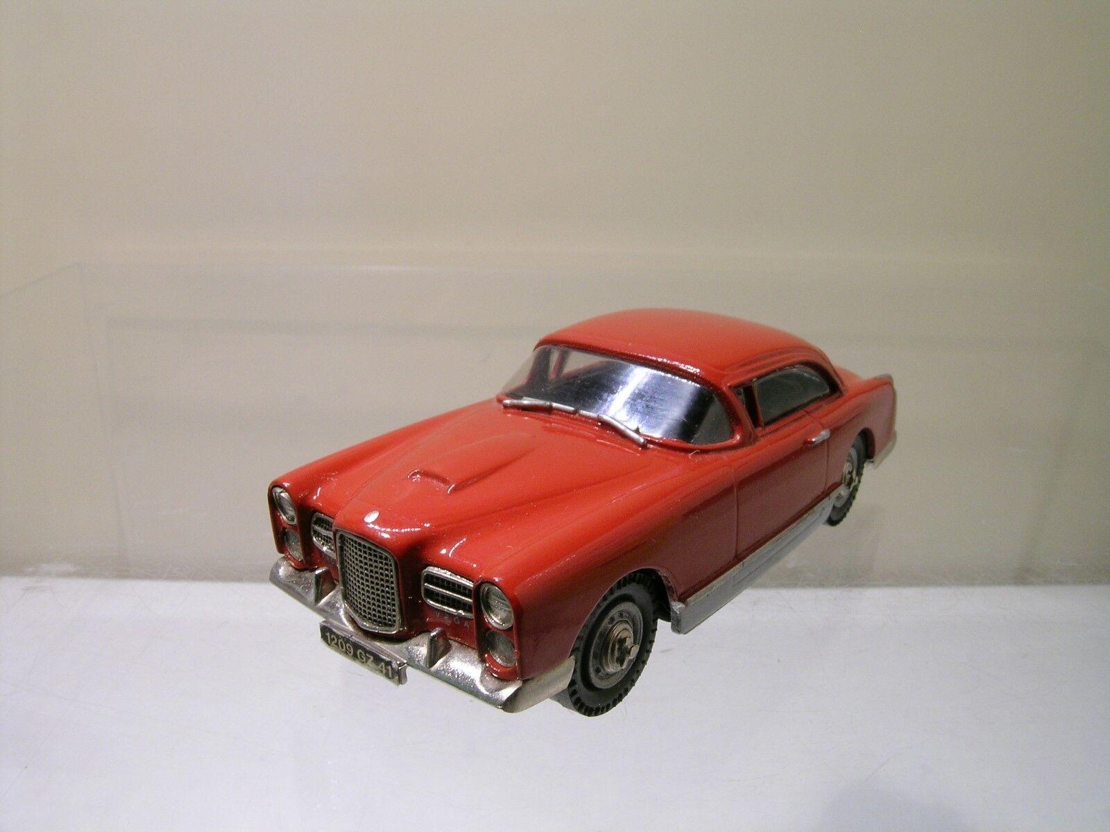 PATHFINDER PFMCC01 FACEL VEGA HK500 1960 rosso bianca -METAL HANDBUILT SCALE 1:43
