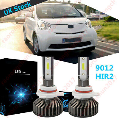 TOYOTA IQ 2 X 9012 DIPPED BEAM HiR2 12V 55W HALOGEN REPLACEMENT HEAD LIGHT BULB