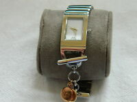 Clogau Welsh Gold Steel Ladies T-Bar Wrist Watch RRP £520.00 (2 ROSE GOLD TAGS)