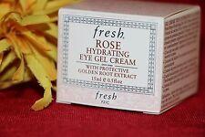 FRESH ROSE HYDRATING EYE GEL CREAM FULL SIZE .5 OUNCES NEW IN BOX AUTHENTIC